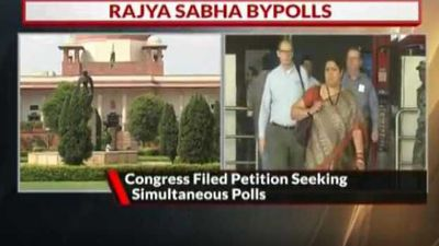 Congress Files Petition Seeking Simultaneous Polls To Two RS Seats