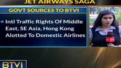 Jet's international rights allotted to other airlines