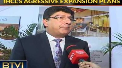 IHCL Aggressive With Regards to Expansion: Puneet Chhatwal, Indian Hotels