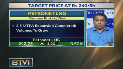 Have Buy Rating On Petronet LNG With Target Of Rs 260/Share: Probol Sen, Centrum Broking