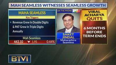Current Domestic Orderbook Is Below Expectation: Saket Jindal, Maharashtra Seamless