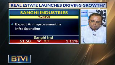 Expecting More Growth To Come Via Infra & Housing Spending: Aditya Sanghi, Sanghi Industries