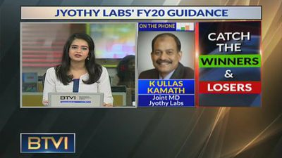 Expecting 10-12% growth in FY20: K Ullas Kamath, Jyothy Labs