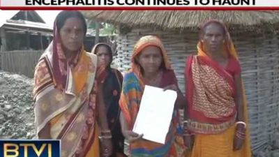 Bihar Horror: FIR against People Protesting lack of water supply, death of children from AES