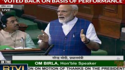 PM's Replies to Motion of Thanks, Addresses Water Crisis