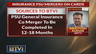 Govt To Merge General Insurance Cos