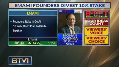 Stake Sold To Reduce Debt At Promoter Level: Mohan Goenka, Emami Group