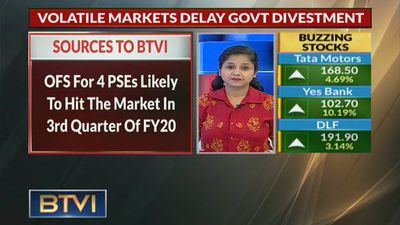 Uncertainty in equity markets delay govt's PSE divestment plan