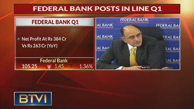 Federal Bank posts Q1 earnings, asset quality stable
