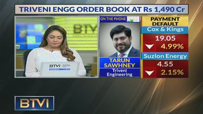 Triveni Engineering business outlook with Tarun Sawhney