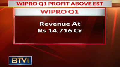 Wipro Q1 Consol PAT At Rs 2,388, Down 3.9% QoQ