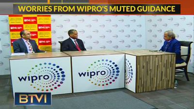 BTVI Exclusive: Wipro Management On Q1 Results & Road Ahead