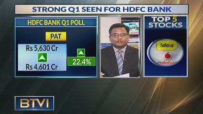 Strong Q1 Seen For HDFC Bank