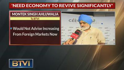 Not The Time For Foreign Borrowing: Montek Singh Ahluwalia