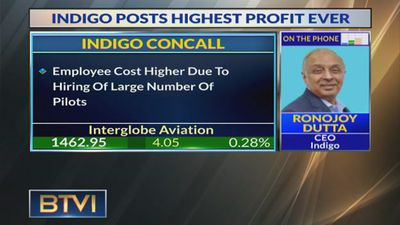 Jet grounding helped unit revenue growth: IndiGo CEO Ronojoy Dutta