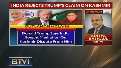 Trump Says PM Modi Asked Him To Mediate In Kashmir Dispute; India Rejects Claims