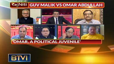 Verbal Spat Between J&K Governor And Omar Abdullah