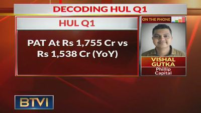 HUL Q1 Earnings: PAT At Rs 1,755 Cr, Up 14.1% YoY