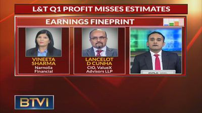 L&T Q1 Consol PAT At Rs 1,473 Cr, Up 21% YoY
