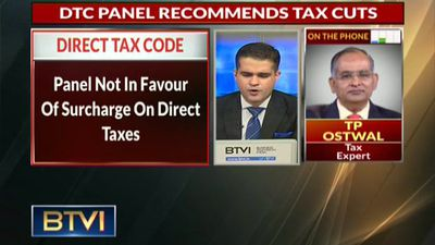 DTC Panel For Relief To Individual Taxpayers, Against I-T Surcharge: Sources