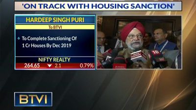 All 1.12 Cr Houses To Be Sanctioned By March 2020: Hardeep Singh Puri