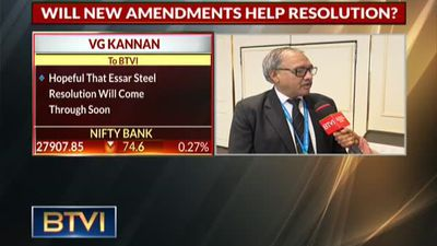 Essar Steel Resolution To Come Through Soon, Will Set Precedent: VG Kannan, IBA