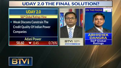 Power Discoms' Structural Issues Big Hurdle For UDAY 2.0 Success: S&P Global