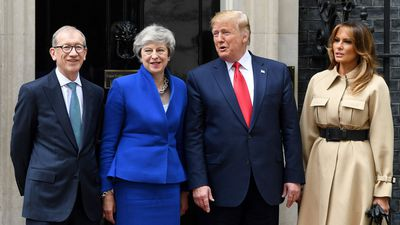 Brexit Looms Over May-Trump Press Conference