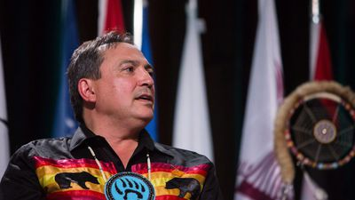 Perry Bellegarde outlines plans for AFN after re-election