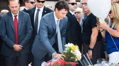 PM remembers brother Michel while honouring Danforth victims