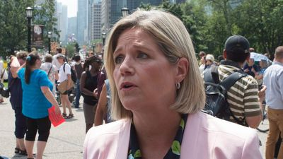 Horwath: Ford's carbon tax challenge is money 'down the toilet'