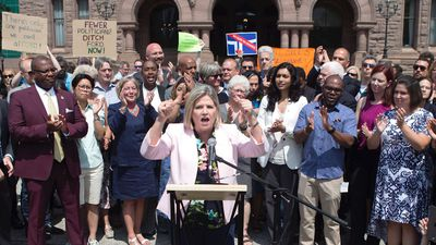 Horwath: Ford aims to 'control' Toronto city council with cuts