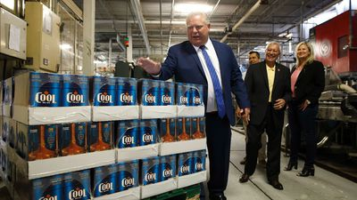 Ford says buck-a-beer policy will go 'a long way' for Ontarians