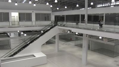 Step inside an eerily empty mall near Calgary