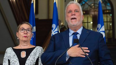 Philippe Couillard steps down from politics in emotional goodbye