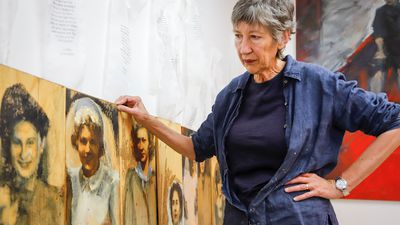 Painter Bev Tosh on her series paying tribute to war brides
