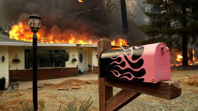 Three Major Wildfires Force Thousands to Flee in California