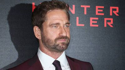 Gerard Butler takes in California wildfire victims