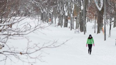 Winter weather hits parts of Canada