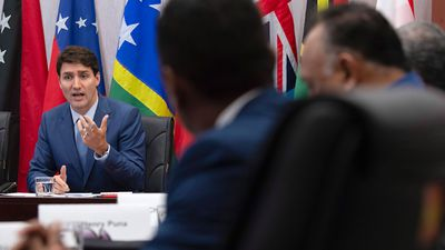 Trudeau offers to help Pacific islands face climate change impact