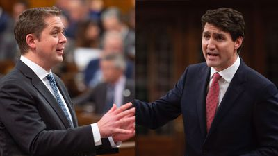 Scheer, Trudeau spar over carbon tax and GM plant closure