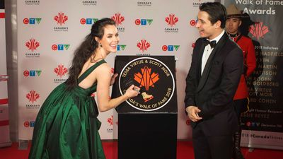Moir says he can't believe he and Virtue have Walk of Fame star