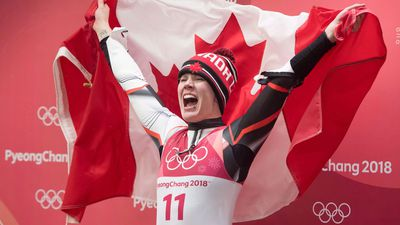 Luger Alex Gough is 'proud' she's inspired girl athletes