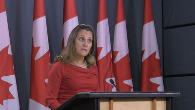 Freeland says second Canadian missing in China after Meng arrest