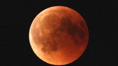 Rare super blood wolf moon will be visible this weekend