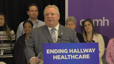 Doug Ford won't commit to future of full-day kindergarten