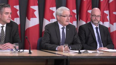 Garneau comments on Canada's decision to ground Boeing 737 Max 8 aircraft
