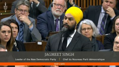 NDP Leader Jagmeet Singh's first day in the House of Commons