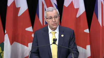 Ontario Finance Minister Vic Fedeli reacts to 2019 Federal budget