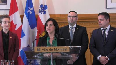 Montreal mayor, opposition leader stand united against Quebec's proposed secularism bill